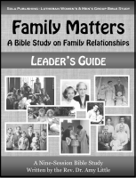 Family Matters - Leader's Guide W-1315