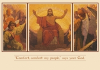 Condolence - Comfort, Comfort My People Card X-322