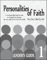 Personalities of Faith - Vol 1 (Leader) Y-6015