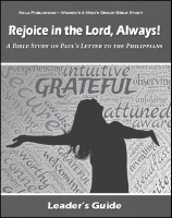 Rejoice in the Lord, Always! - Leader's Guide W-1815