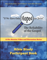 The Reliability of the Gospel - Participant G-1010