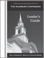 The Augsburg Confession (Leader's Guide) L-5015