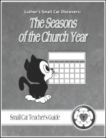 Seasons of the Church Year (Teacher's Guide) C-1245