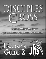 Disciples of the Cross, Pt.2 - Leader J-1025