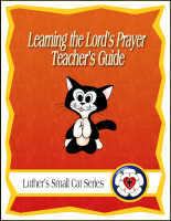 Learning the Lord's Prayer (Teacher's Guide) C-1125