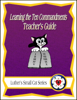 Learning the Ten Commandments (Teacher's Guide) C-1135