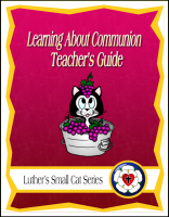 Learning About Communion (Teacher's Guide) C-1155